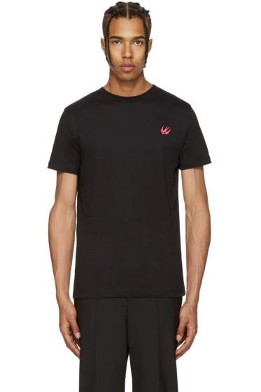 McQ Alexander McQueen - Black Swallow Badge T-Shirt