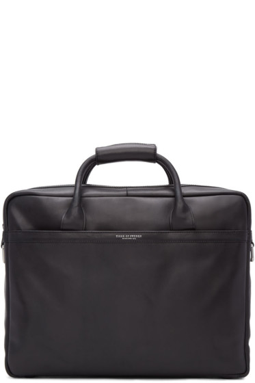 Tiger of Sweden - Black Mannes Briefcase