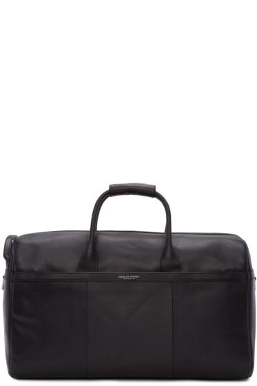 Tiger of Sweden - Black Leather Lavonen Duffle Bag