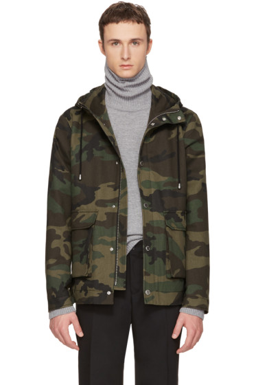 Tiger of Sweden - Green Camo Mirto Jacket