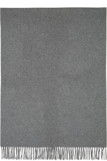 Acne Studios - Grey Canada Wide Scarf