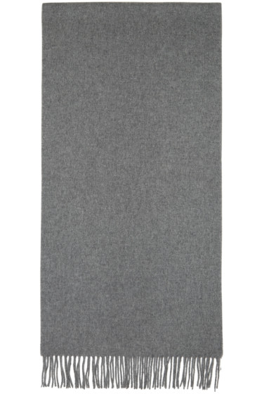 Acne Studios - Grey Canada Narrow Scarf