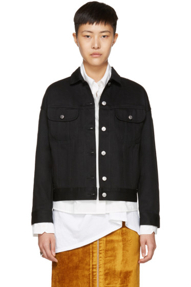 Acne Studios - Black Denim Lamp Jacket
