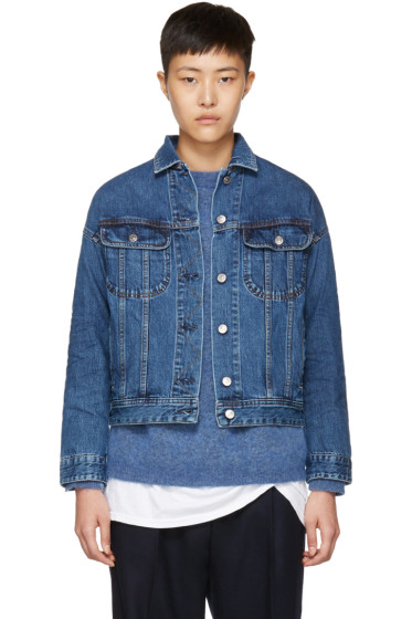 Acne Studios - Blue Denim Lamp Jacket