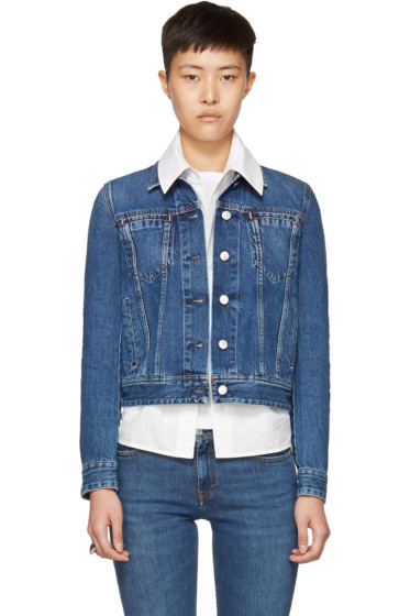 Acne Studios - Blue Denim Cliff Jacket
