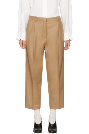 Acne Studios - Beige Tabea Cropped Trousers
