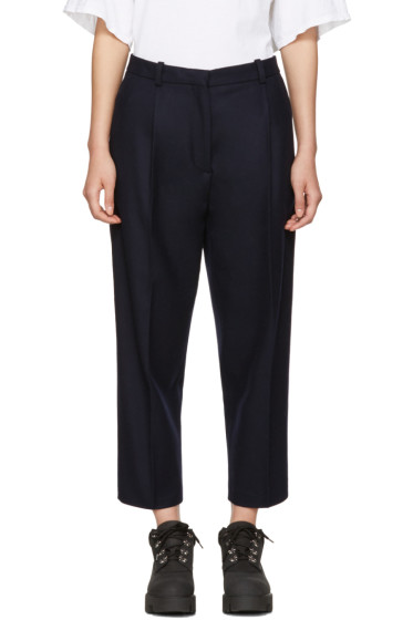 Acne Studios - Navy Tabea Cropped Trousers