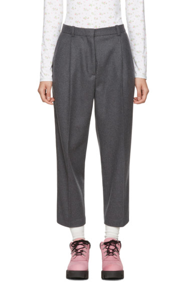 Acne Studios - Grey Tabea Cropped Trousers