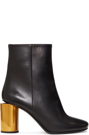 Acne Studios - Black & Brass Allis Boots