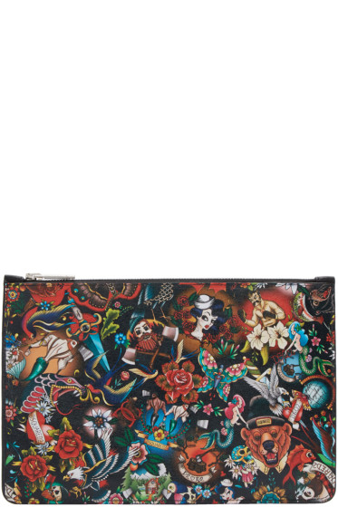 Dsquared2 - Multicolor Tattoo Pouch