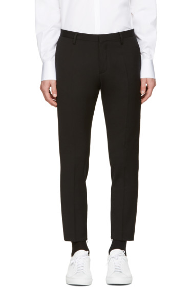 Dsquared2 - Black Skinny Dan Zip Trousers