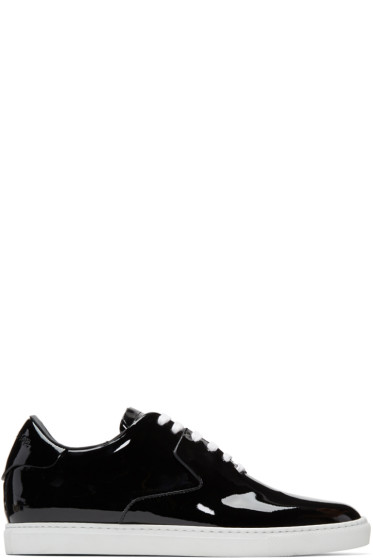 Dsquared2 - Black Patent Shiny Sneakers