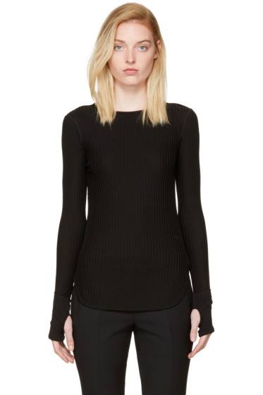 Helmut Lang - Black Rib T-Shirt