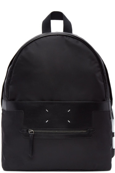 Maison Margiela - Black Nylon Backpack