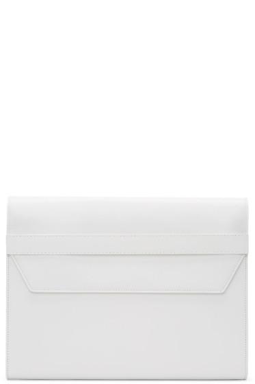Maison Margiela - White Leather Portfolio