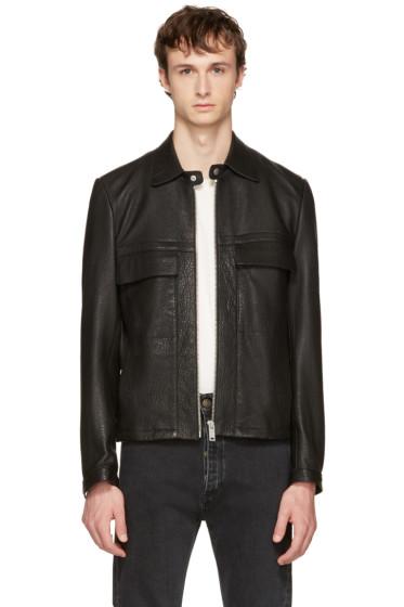 Maison Margiela - Black Leather Jacket