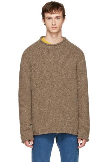 Maison Margiela - Beige Donegal Sweater