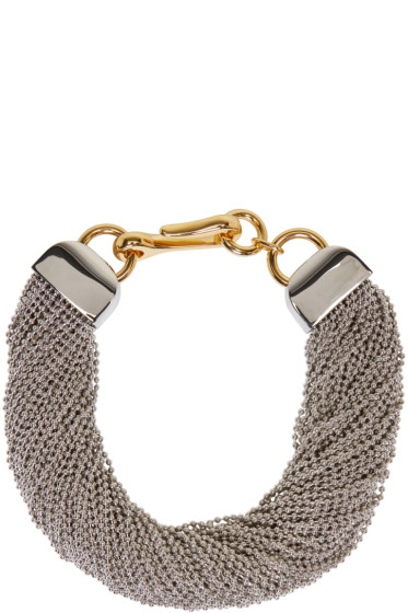 Alexander Wang - Silver Ball Chain Necklace