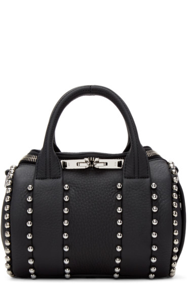 Alexander Wang - Black Mini Rockie Ball Stud Bag