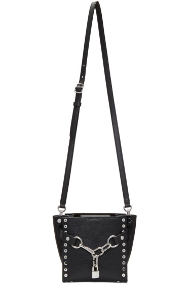 Alexander Wang - Black Studded Mini Attica Chain Satchel