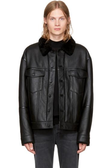 Alexander Wang - Black Shearling Jacket