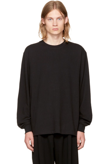 Alexander Wang - Black High Twist Long Sleeve T-Shirt