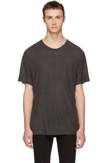 Alexander Wang - Grey Slub T-Shirt