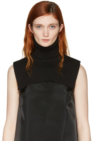 MM6 Maison Margiela - Black Turtleneck Collar