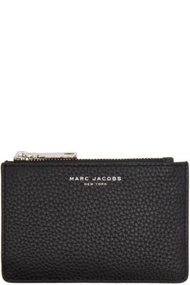 Marc Jacobs - Black Gotham Zip Card Holder