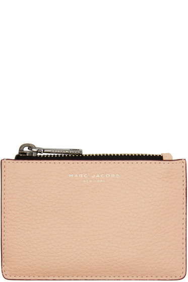 Marc Jacobs - Pink Gotham Zip Card Holder