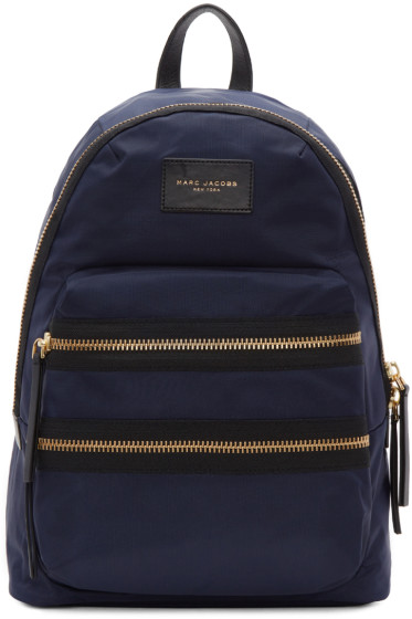 Marc Jacobs - Navy Biker Backpack