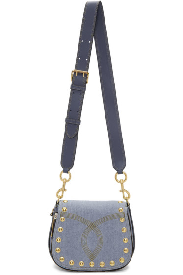 Marc Jacobs - Blue Denim Small Nomad Bag