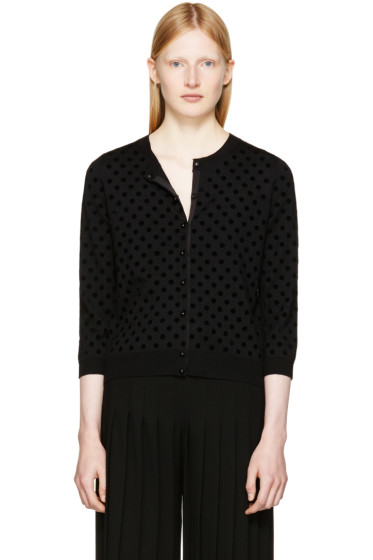 Marc Jacobs - Black Polka Dot Cardigan
