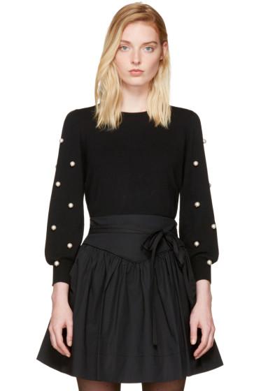 Marc Jacobs - Black Pearl Crewneck Sweater