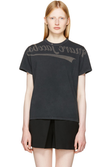 Marc Jacobs - Black Logo Selfie T-Shirt