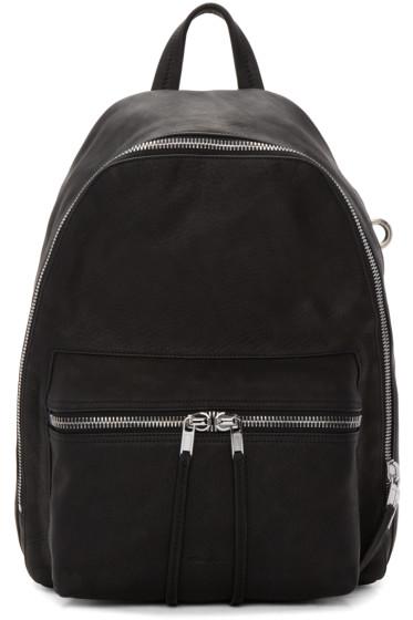 Rick Owens - Black Mini Leather Backpack
