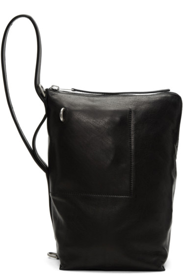 Rick Owens - Black Mini Bucket Bag
