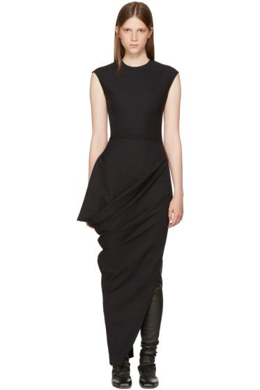 Rick Owens - Black Walrus Dress