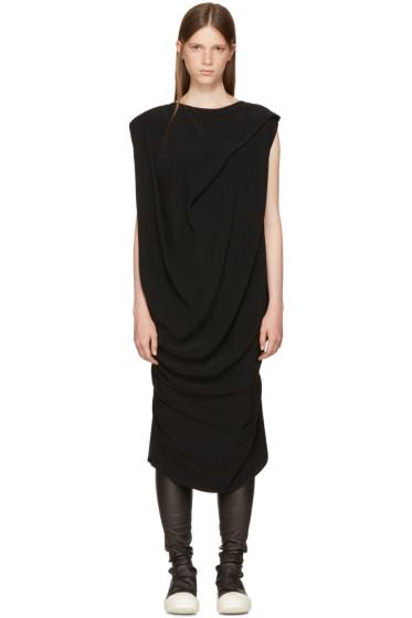 Rick Owens - Black Nouveau Dress