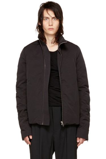 Rick Owens - Black Mollino Down Jacket