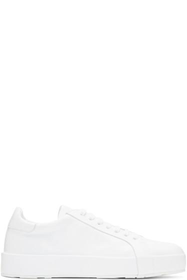 Jil Sander - White Eleonor Sneakers