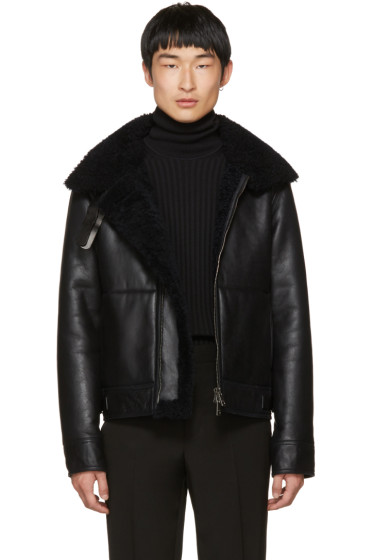 Jil Sander - Navy Shearling Norwich Jacket