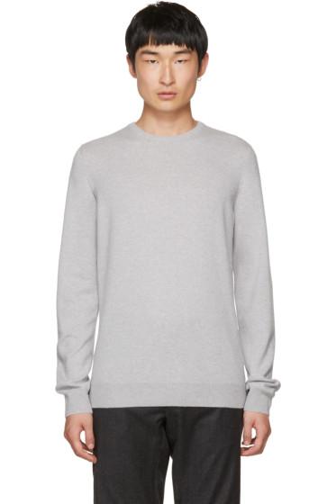 Jil Sander - Grey Cashmere Crewneck Sweater