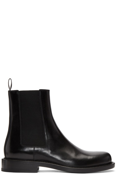Jil Sander - Black Leather Chelsea Boots