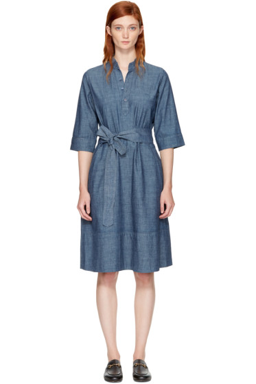 A.P.C. - Indigo Oleson Dress