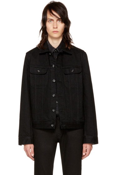 A.P.C. - Black Denim Benjamin Jacket