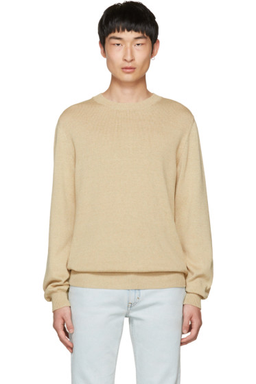 A.P.C. - Beige Norman Sweater