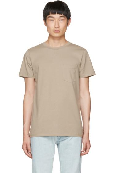 A.P.C. - Taupe Keanu T-Shirt