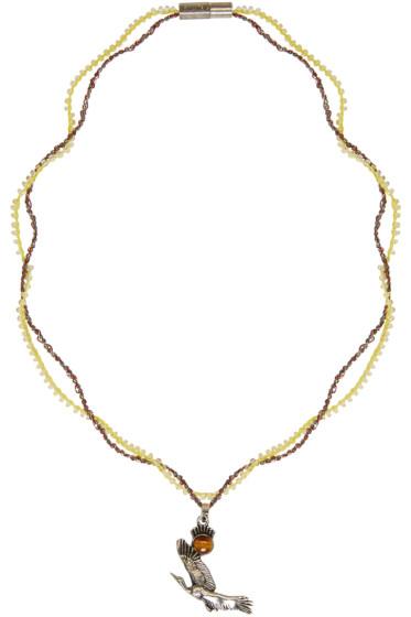 Lanvin - Silver Bird Necklace