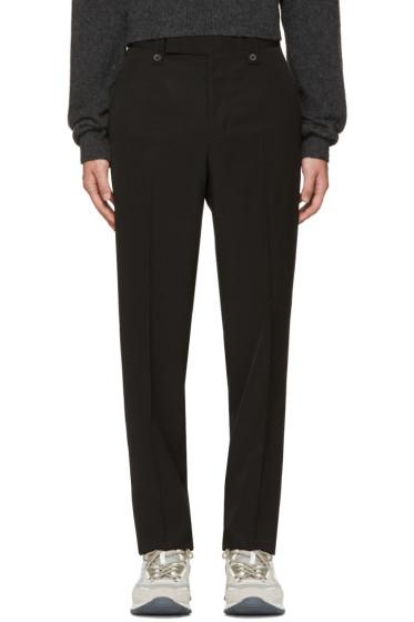 Lanvin - Black Loose Fit Trousers